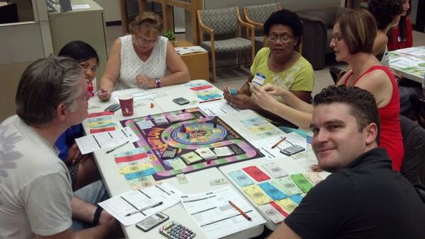 cashflow game sandy john